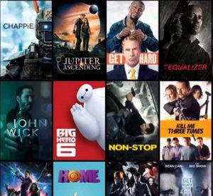 Movies, Music & Video Games Megamenu Item
